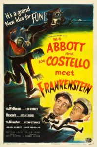 poster abbott and costello meet frankenstein